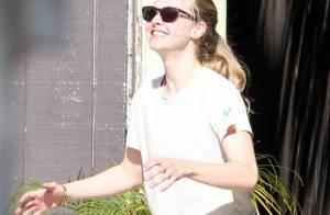 La belle Amanda Seyfried rayonne et... transpire le bonheur avec son amoureux Dominic Cooper !