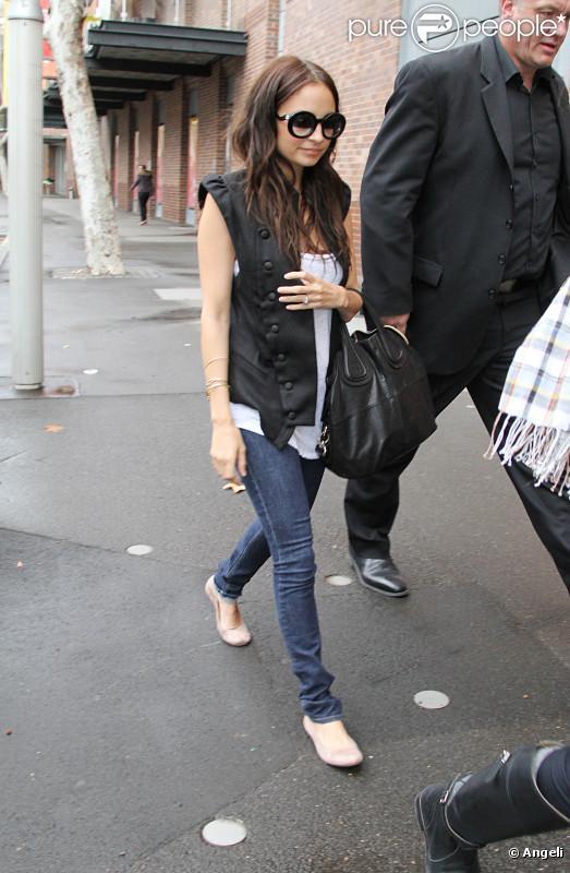 Nicole Richie à Sydney, le 16 juin 2010