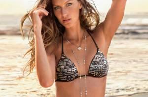 Gisele Bündchen : Toujours aussi sublime lorsqu'elle se dévoile sur une plage paradisiaque !