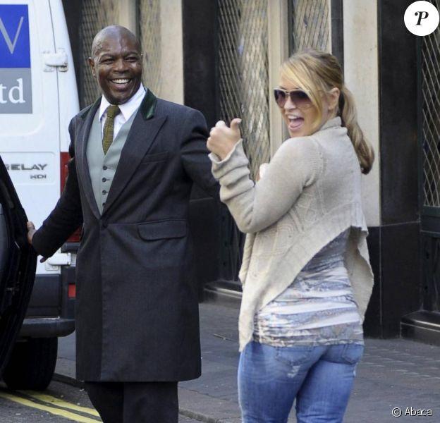 Anastacia, aperçue dans le quartier londonien de Covent Garden, mardi 22 juin, participera prochainement à un télé-crochet en tant que jurée.