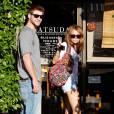 Miley Cyrus et Liam Hemsworth à Studio City, le 24 juin 2010