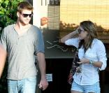 Miley Cyrus et Liam Hemsworth à Studio City, le 24 juin 2010