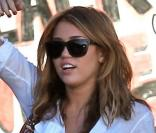 Miley Cyrus à Studio City, le 24 juin 2010