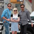 Kirsten Dunst et son petit ami Jason Boesel se promenent dans West Village à New York le 26 juin 2010