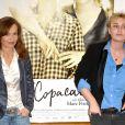 Isabelle Huppert et Lolita Chammah à l'occasion de l'avant-première de  Copacabana , au Cinéma l'Arlequin, à Paris, le 28 juin 2010.