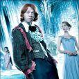 Afshan Azad, Rupert Grint et Clémence Poésy dans Harry Potter et la coupe de feu