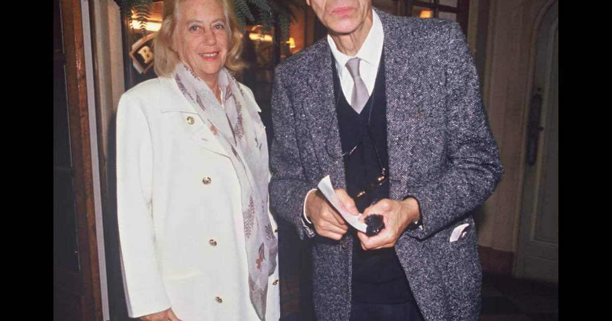 laurent terzieff et sa compagne pascale de boysson 1994
