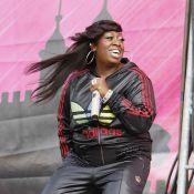 Missy Elliott, reine du hip hop au féminin, et Beth Ditto... deux méga stars, deux styles !