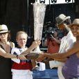 Keziah Jones et Ayo à la Polo Charity Cup for UNICEF. 26 juin 2010