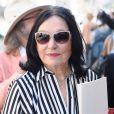 Nana Mouskouri au défilé Jean-Paul Gaultier