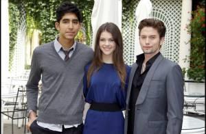 Dev Patel, Jackson Rathbone et la radieuse Nicola Peltz dans les somptueux jardins parisiens !