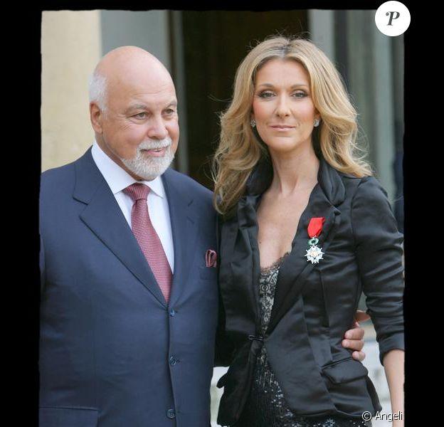 Céline Dion et son époux René Angélil