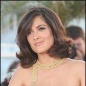 Salma Hayek : Quand elle n'est pas là, sa petite Valentina s'amuse avec sa soeur !