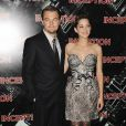 Marion Cotillard et Leonardo DiCaprio à l'avant-première d'Inception, le 10 juillet 2010.