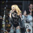 La chanteuse australienne Kylie Minogue