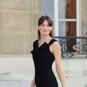 Carla Bruni : une première dame éclatante de beauté, pour une réunion amicale entre femmes !