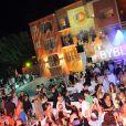 Byblos Summer Party, à Saint-Tropez, le 13 juillet 2010