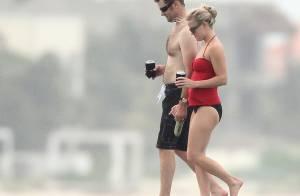 Reese Witherspoon : Moments romantiques, au bord de l'eau, avec son nouvel amoureux...