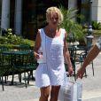 Britney Spears fait du shopping à Los Angeles, le 19 juillet.