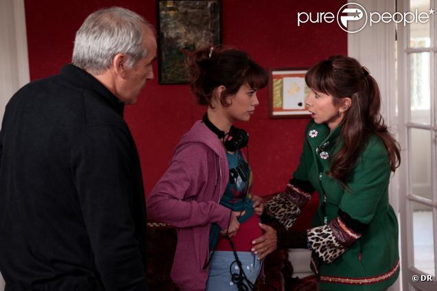 Lucie Lucas, Victoria Abril et Jérôme Anger
