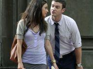 Assistez à une scène de ménage en pleine rue entre Justin Timberlake et la sexy Mila Kunis !