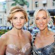 Clotilde Courau et Fabienne Lavaud au Luxuria de Monaco