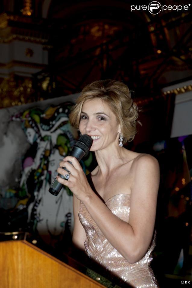Clotilde Courau a présidé le gala de charité Luxuria à Monaco