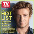 Simon Baker en couverture de TV guide