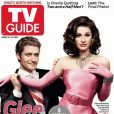 Matthew Morrison et Lea Michele en couverture de TV Guide