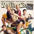 L'équipe de Glee en couverture de Rolling Stones