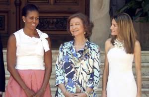 Quand Letizia d'Espagne rencontre Michelle Obama : un duo estival glamour !