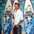 David Beckham lors des Teen Choice Awards 2010 à Los Angeles, le 8 août 2010