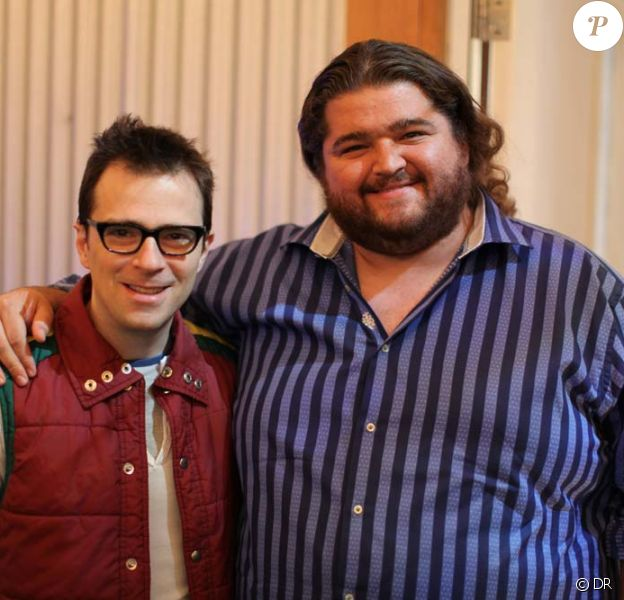 River Cuomo, leader du gorupe Weezer, et Jorge Garcia de Lost.