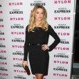 Amber Heard lors de la soirée Nylon au club The London à West Hollywood dans Los Angeles le 10 août 2010