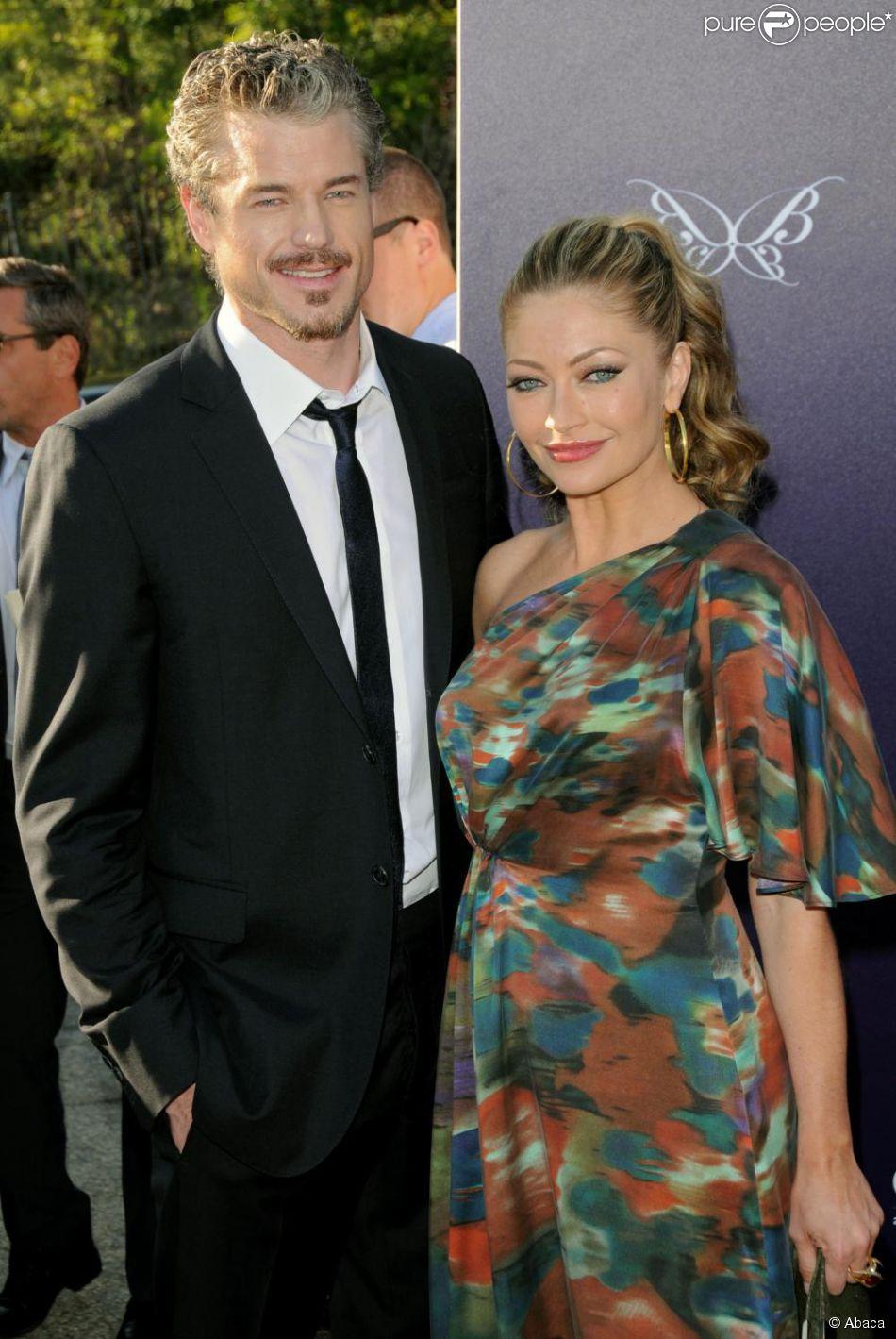 Rebecca Gayheart et son mari Eric Dane...