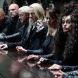 Les méchants dans Harry Potter et les reliques de la mort : partie I dont Bellatrix Lestrange (Helena Bonham Carter)