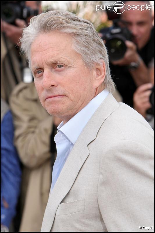 Michael Douglas à Cannes en mai 2010