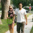 L'actrice américaine Hilary Duff et son mari Mike Comrie