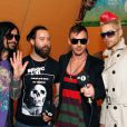 Jared Leto et son groupe 30 Seconds to Mars