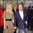 "Claudia Schiffer et son mari Matthew Vaughn lors de la première mondiale du film ""Flashbacks Of A Fool"", le 13 avril 2008 à Londres"