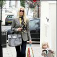 Claudia Schiffer et sa fille Clementine