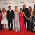 Les invités lors du premier Starlite Gala qui s'est tenu à l'hôtel Villapadierna à Marbella, le 7 août 2010