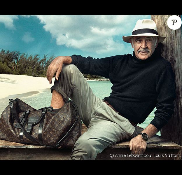 Sean Connery magnifié pour Louis Vuitton en 2008