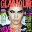 Angelina Jolie en couverture du Glamour allemand du mois de septembre 2010