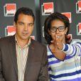 Conférence de presse de rentrée de Radio France : Patrick Cohen et Audrey Pulvar