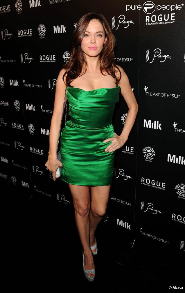 Rose McGowan lors de la soirée pré-Emmy,  The Art Of Elysium , aux Milk Studios à L.A., le 28 août 2010