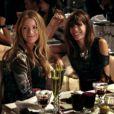 Tournage de Gossip Girl au restaurant Cristal Room Baccarat à Paris