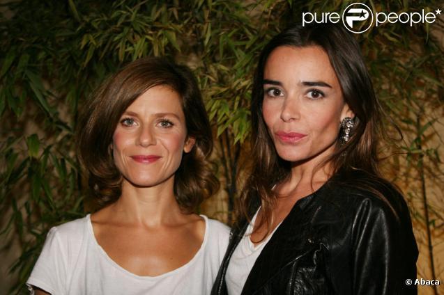 Marina Foïs et Elodie Bouchez lors de l'avant-première de Happy Few le 6 septembre 2010 à Paris