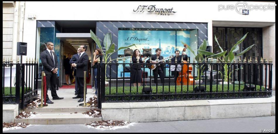 La boutique Dupont, à l\'occasion de la Vogue Fashion Celebration ...
