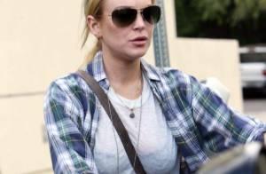Lindsay Lohan : Look destroy et toujours assignée à résidence, elle règle ses derniers